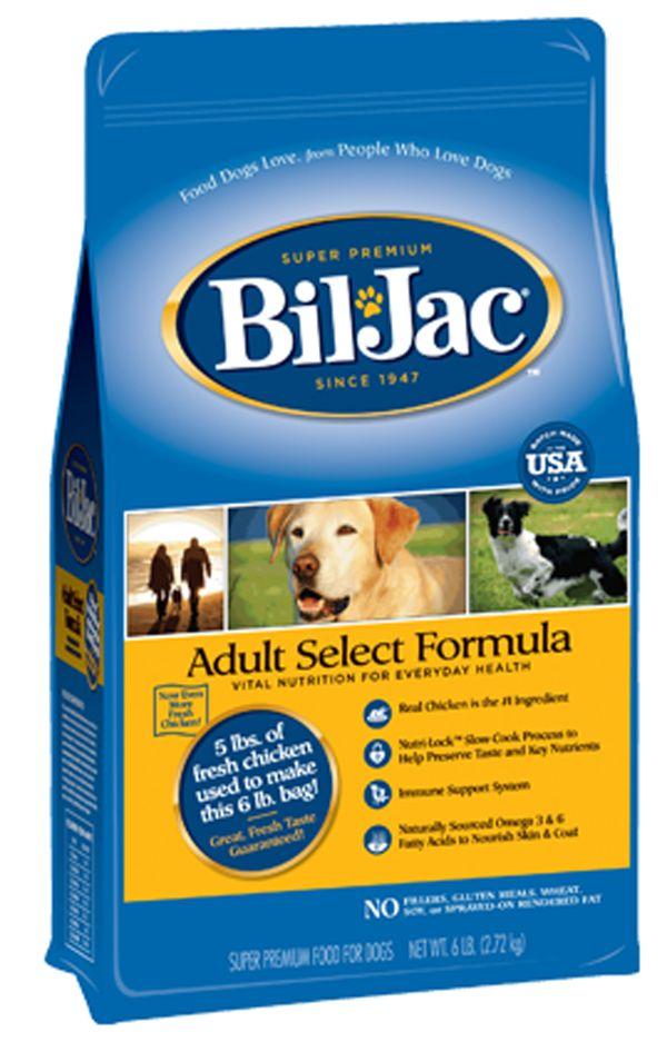 Recall Watch Bil Jac Withdraws Adult Select Formula Dog Food