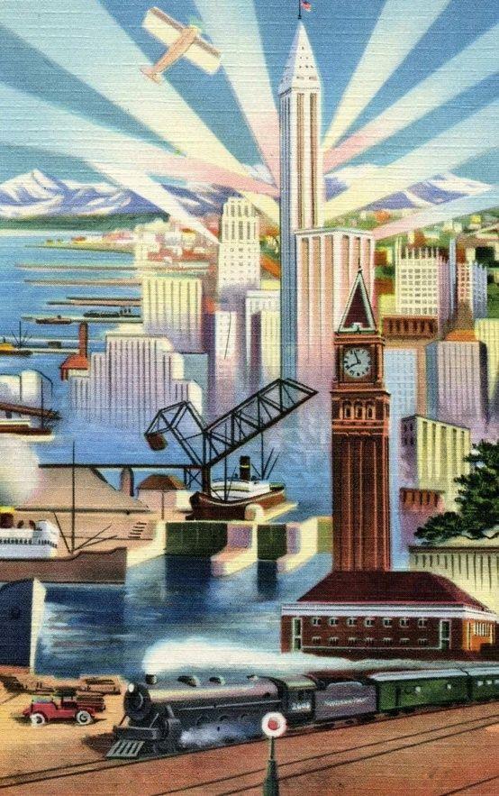 art deco poster wallpaper art deco kunst jugendstil. Black Bedroom Furniture Sets. Home Design Ideas
