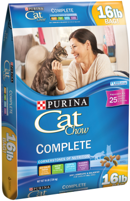 Sale 10 98 Purina Cat Chow Complete Cat Food 16 Pound Bag