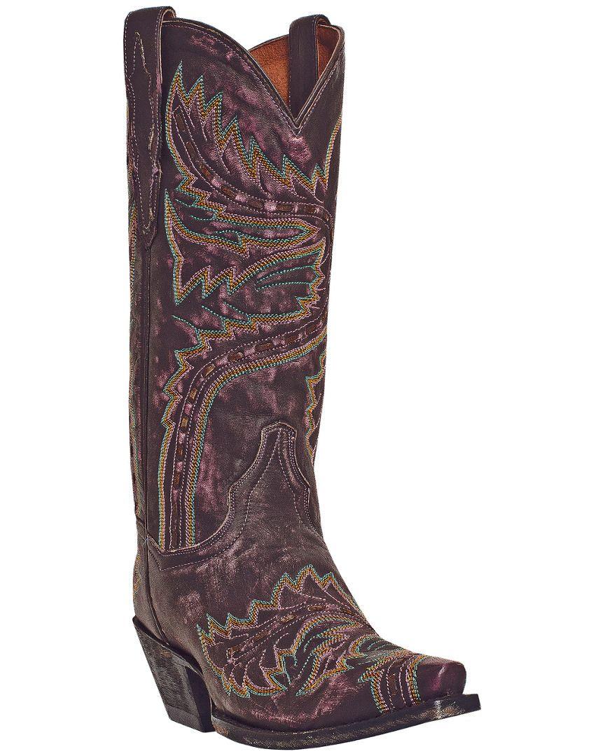 """Rue La La — Dan Post """"13 Sidewinder"""" Leather Western Boot"""