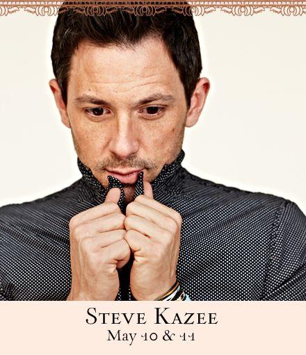 Steve Kazee at 54 Below. Bummer all sold out!!