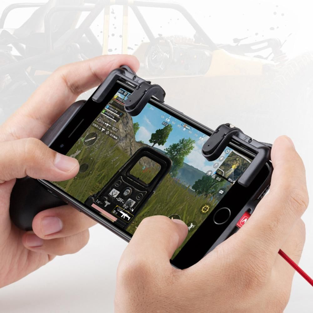 L1 R1 Sharp Shooter Pubg Mobile Joystick Rule Of Survival Versi 3 099 Game Controller Trigger Fire Button For Ios Iphone X 8 7 6 Ebay Electronics