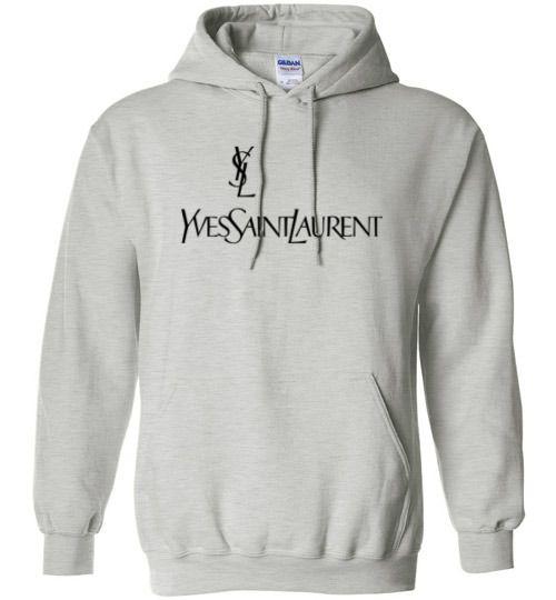 aa17999db5d YSL Yves Saint Laurent Logo Hoodie | Hoodie Collection | Cool ...