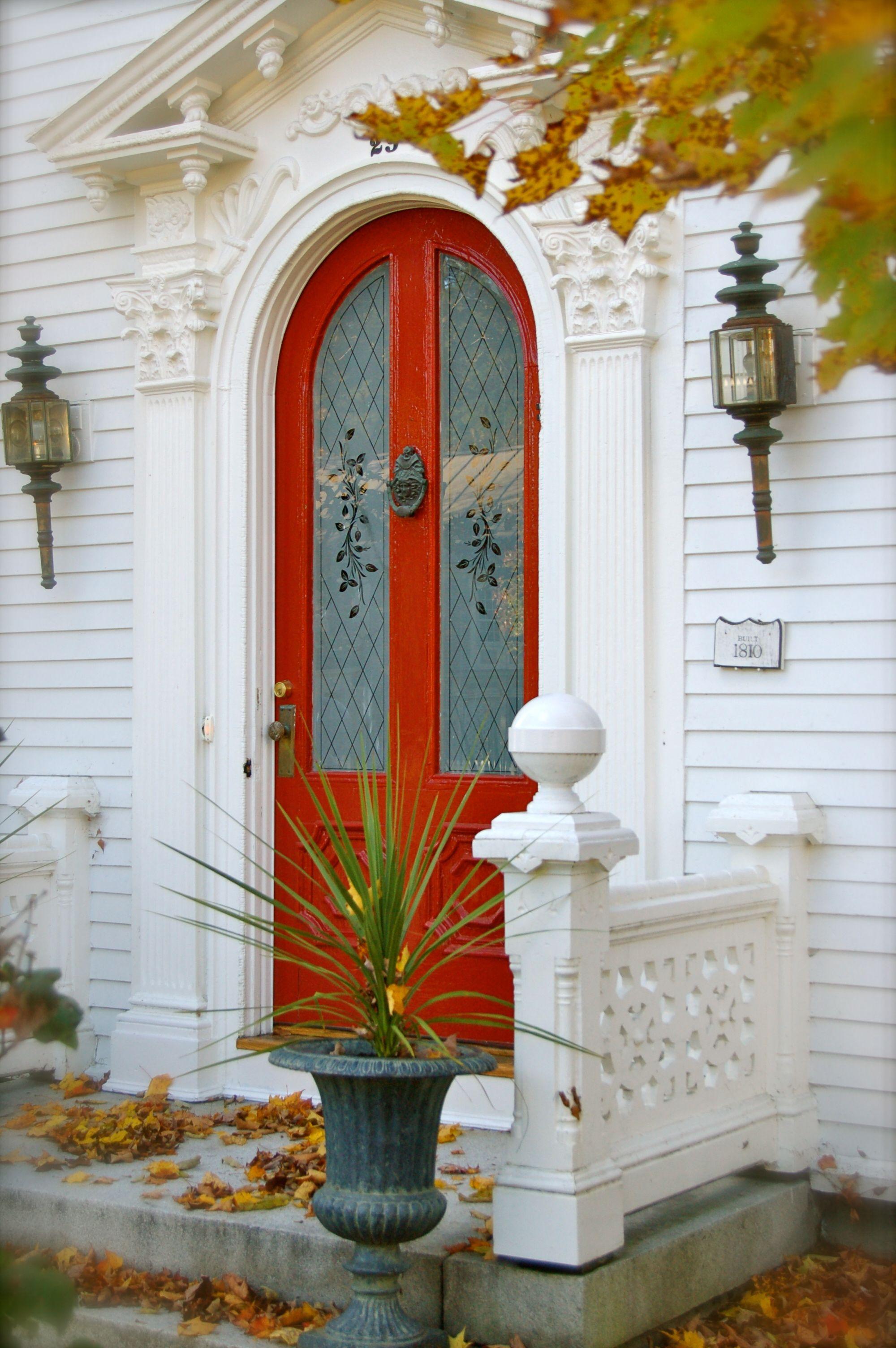 New england door doors doorways doors entrance - Doors for arched doorways ...