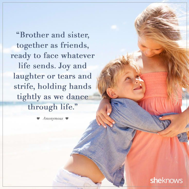 20 sweet quotes about siblings and their lifelong bond