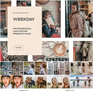 Weekday Mobile Desktop Lightroom Presets