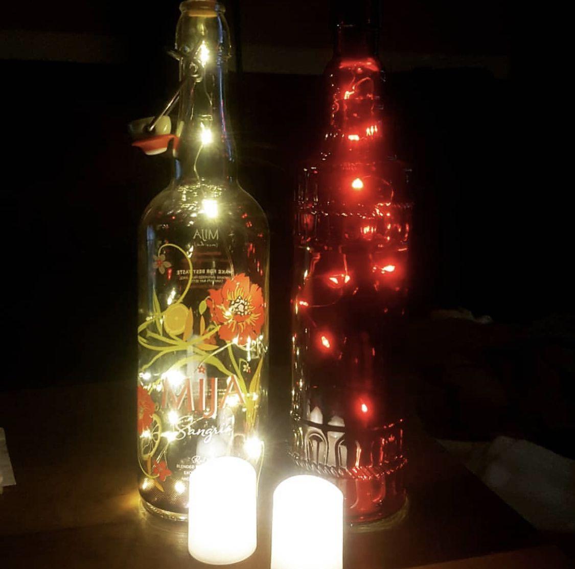 Wine Bottle Cork Lights The Shopolics Bottle Lights Lighted Wine Bottles Wine Bottle Corks