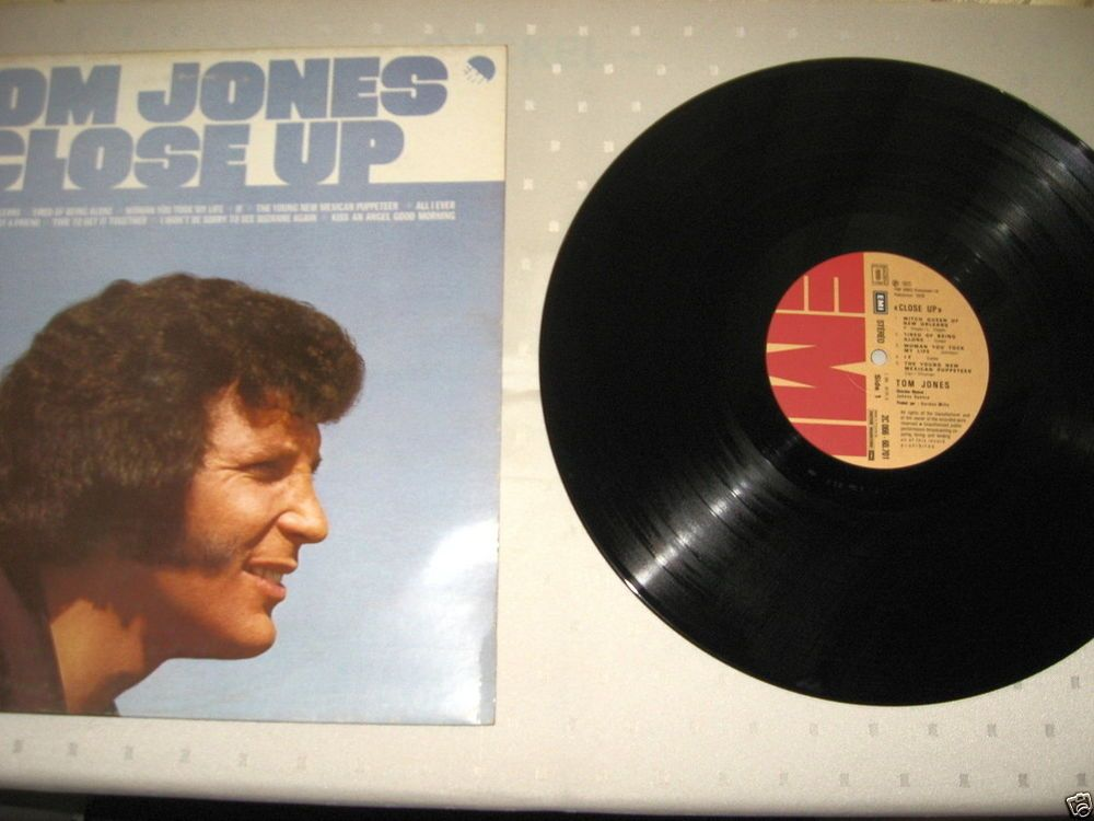 Tom Jones ‎- Close Up FR 1978 Lp near mint