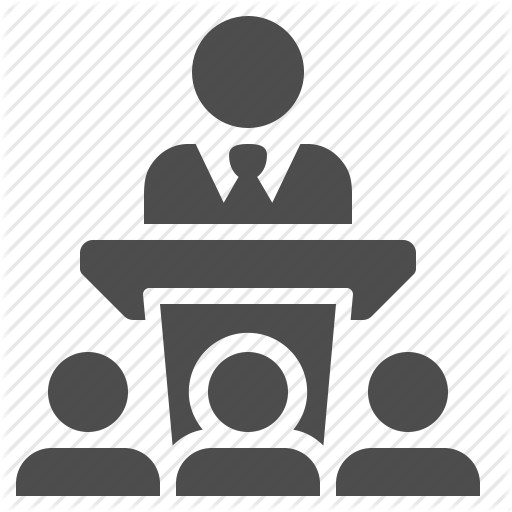 Business Businessman Conference Lecture Man Podium Speech Icon Download On Iconfinder Business Man Icon Lecture