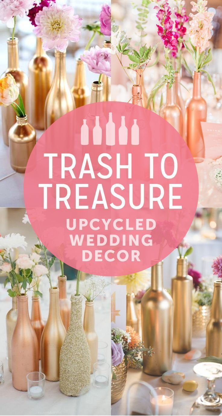 Wedding Budget Tip #15: Upcycled Wedding Decor