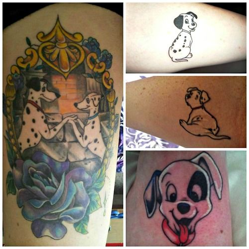 This Is My 101 Dalmatian Tattoo Family So Far Have Had A Love Of
