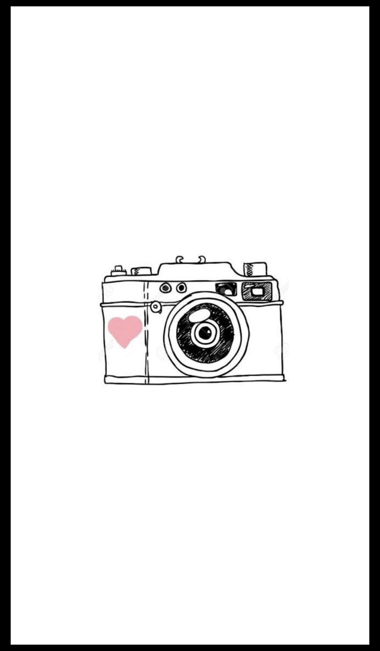 Camera Aesthetic Icon Cameraaestheticicon In 2021 Instagram Highlight Icons Camera Drawing Camera Logo Vintage
