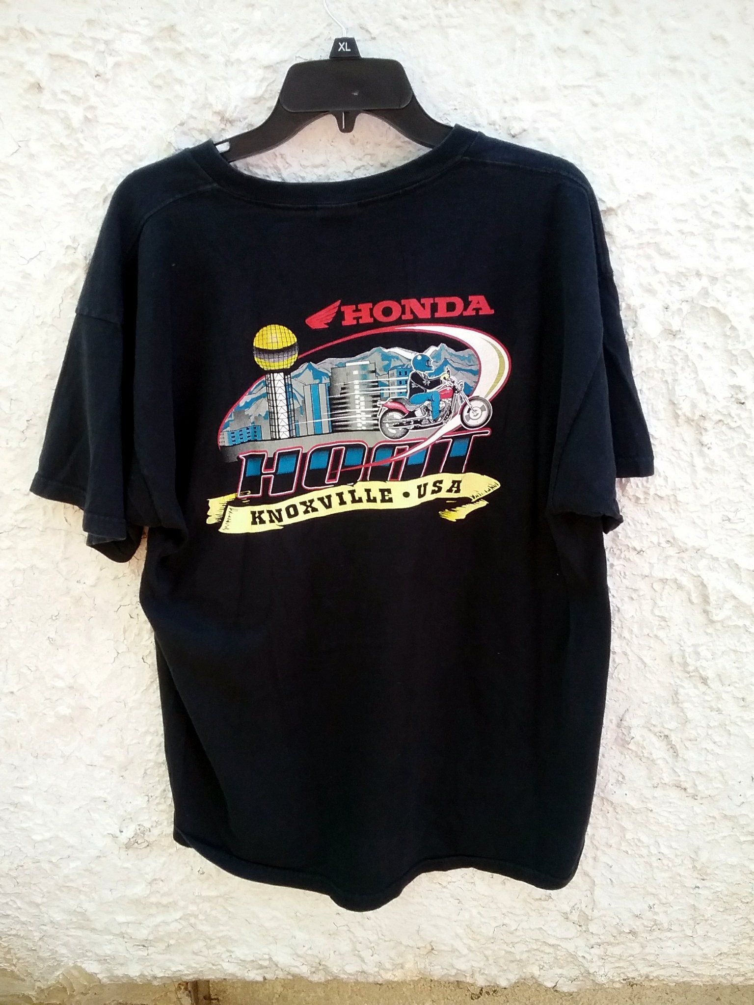 90s Honda Knoxville Usa Motorcycle T Shirt Xl Vintage By
