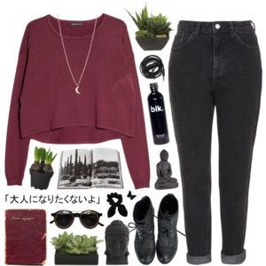 Image via We Heart It #fashion #grunge #pale #Polyvore #quote #sad #style #softgrunge