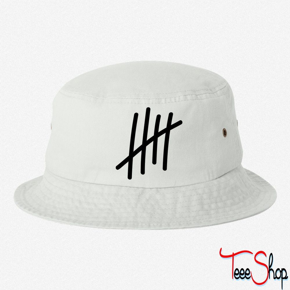 5 Lines Times Birthday Gift Sport Bucket Hat