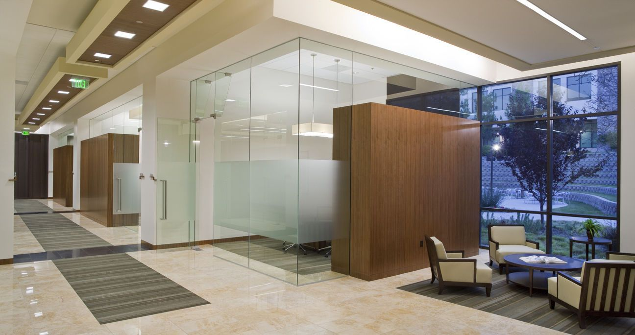 Law Office Decor Facility Solutions Interior Design Corporate San Diego California Knobbe