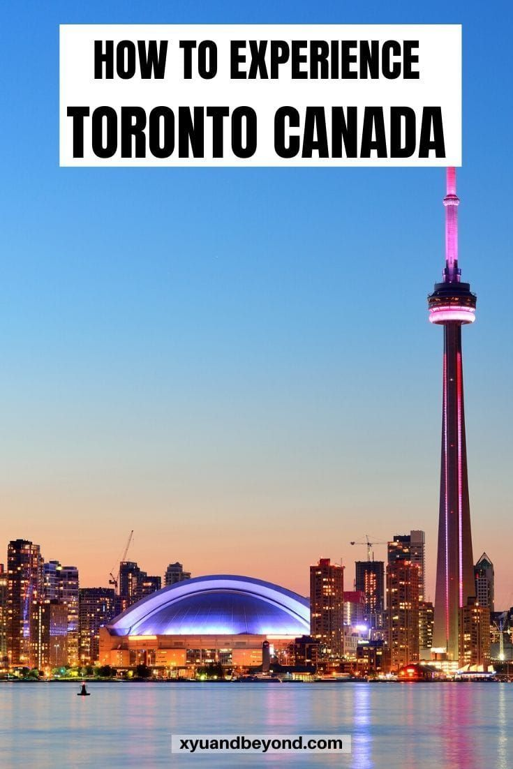 experiences in Toronto Canada Toronto is a bustling clean vibrant city with a youthful vibe and lots to offer a traveler 11 memorable things to experience in Toronto from...