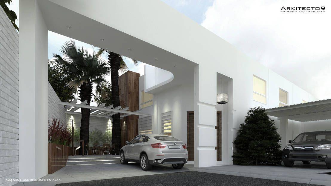 10 espectaculares ideas para enmarcar la fachada de tu casa ...