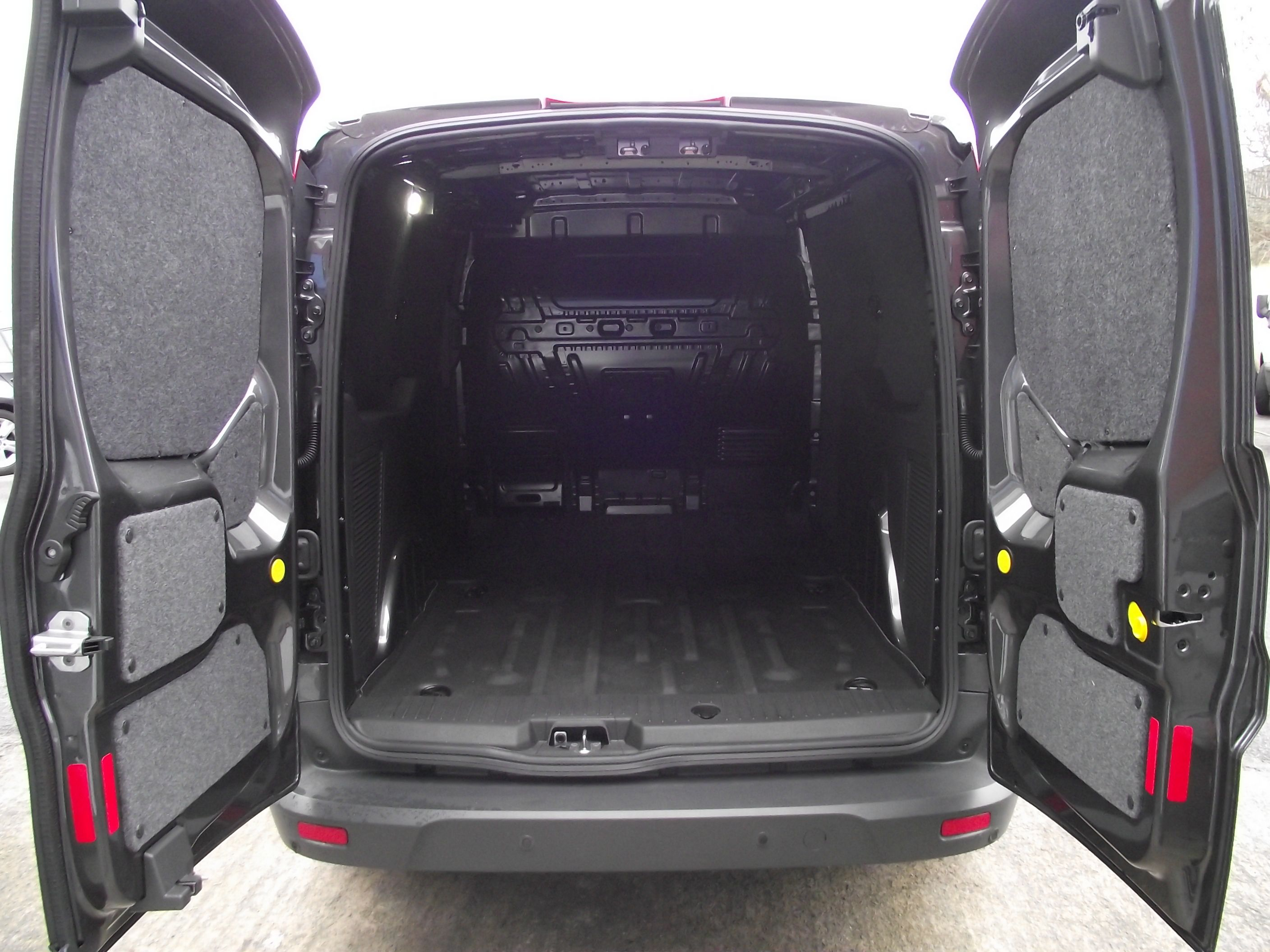 Carpeting Inside A Ford Transit Connect 2015 Conversion Van Wagon Interior