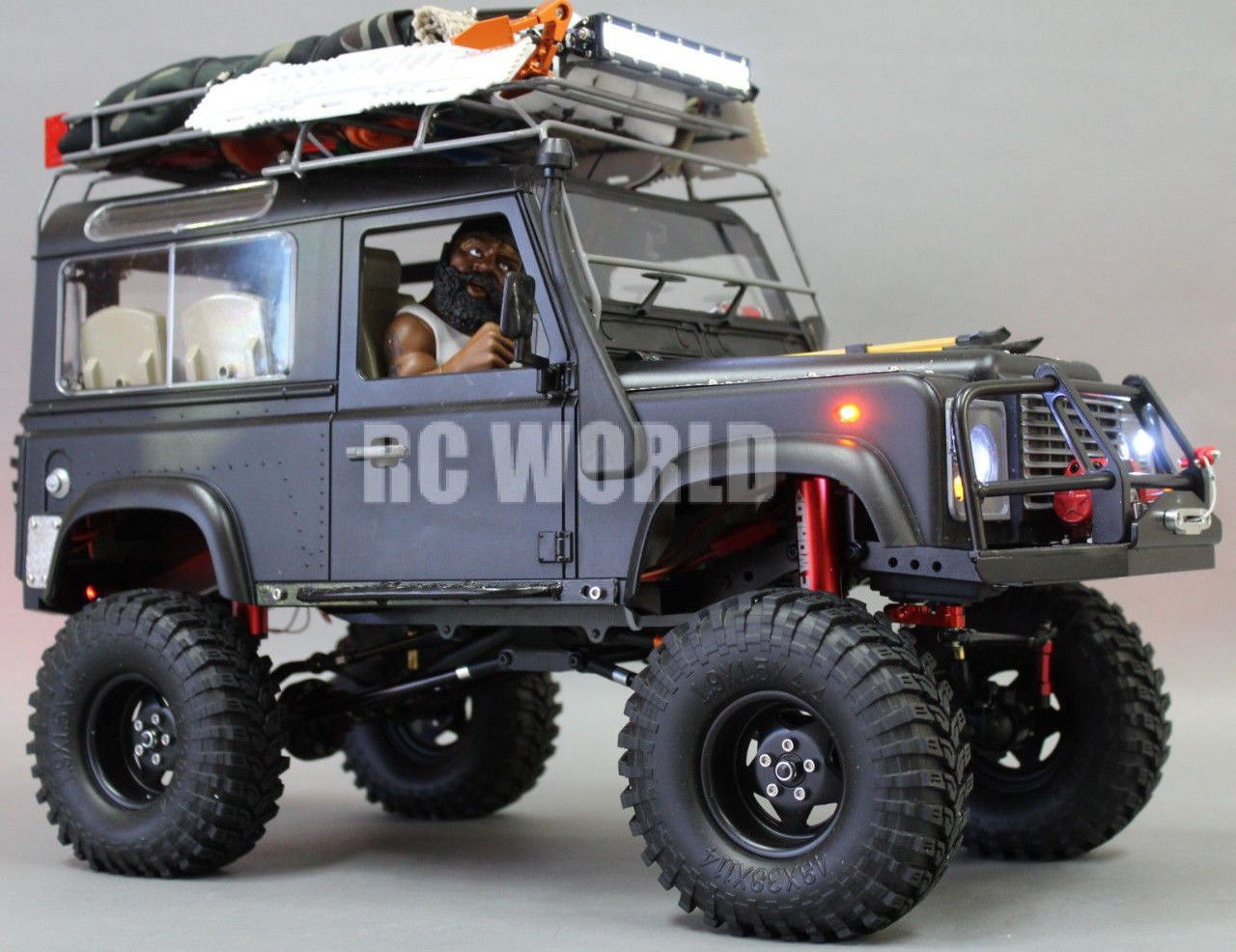 Rc4wd 1 10 Land Rover Defender 90 Expedition Rock Crawler 4x4 W Winch Rtr Land Rover Land Rover Models Land Rover Defender