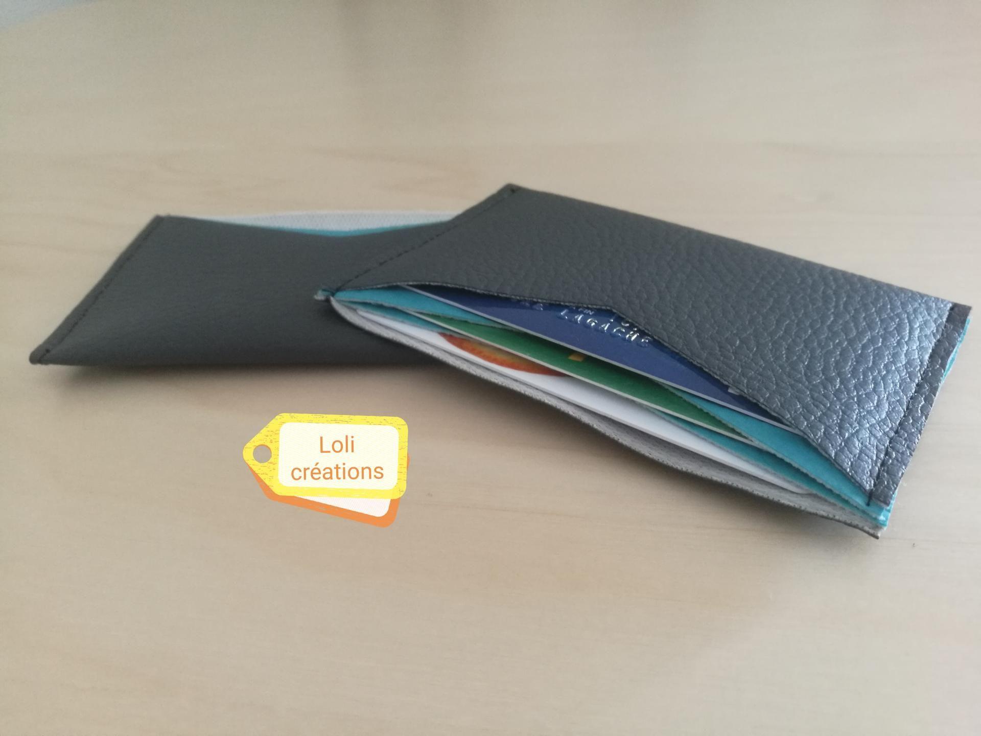 Réalisation d'un porte-cartes tout simple