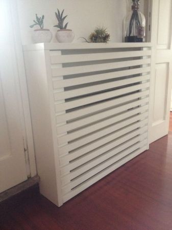 radiator baseboard cover idea diy projects pinterest cache radiateur radiateur et chauffage. Black Bedroom Furniture Sets. Home Design Ideas