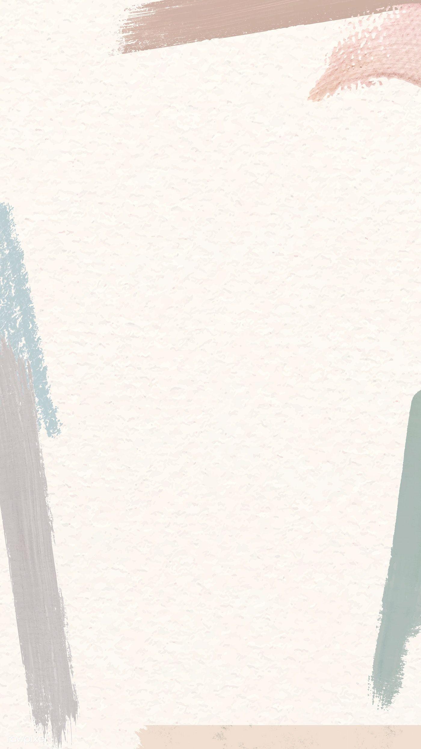 Download premium vector of Colorful brushstroke frame on background vector