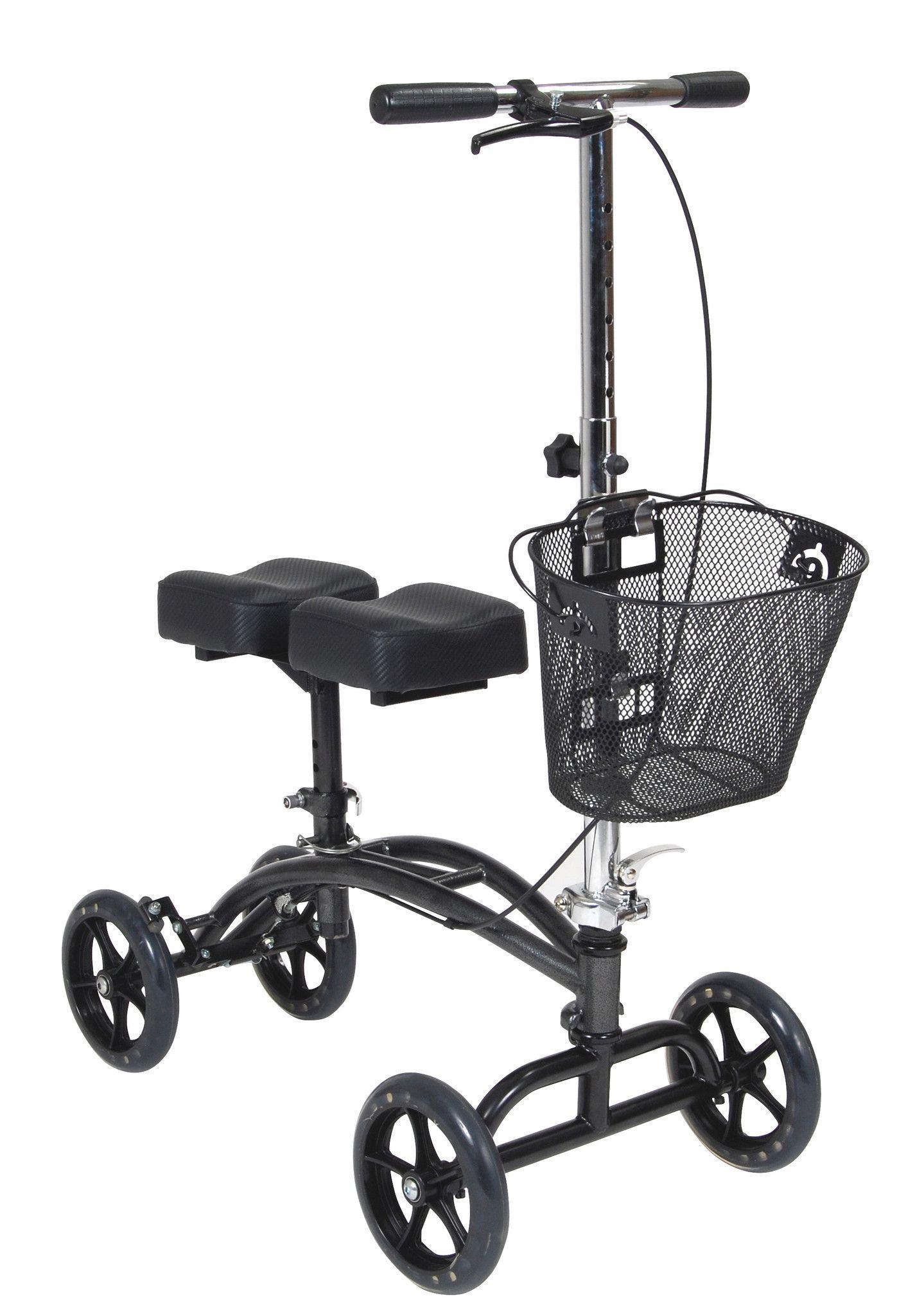 Knee Walker, Steerable with Basket, Drive 796 Knee