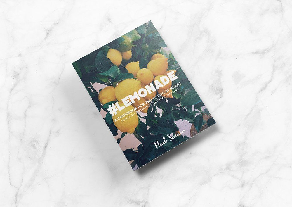 LEMONADE is a 50 page, unique and mouthwatering InDesign cookbook ...