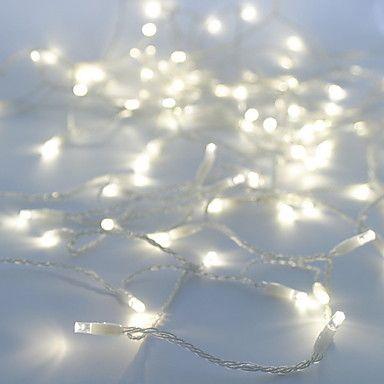 10m de 100 6w lampe led blanche guirlande lumineuse pour No l