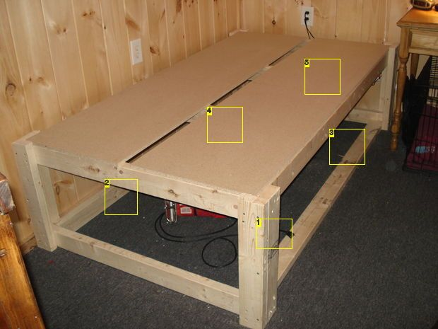 Raised Cabin Bed Frame With Hidden Space With Images Raised