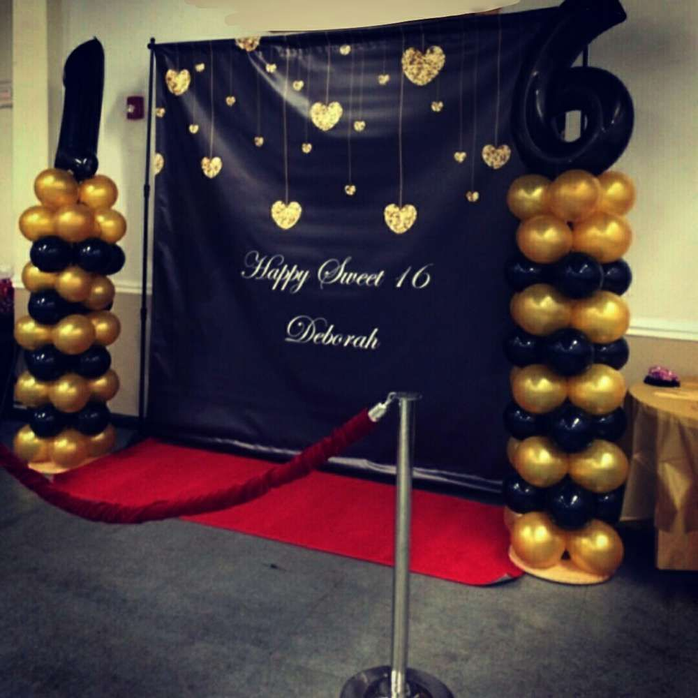 Sweet 16 Red Carpet Birthday Party Ideas