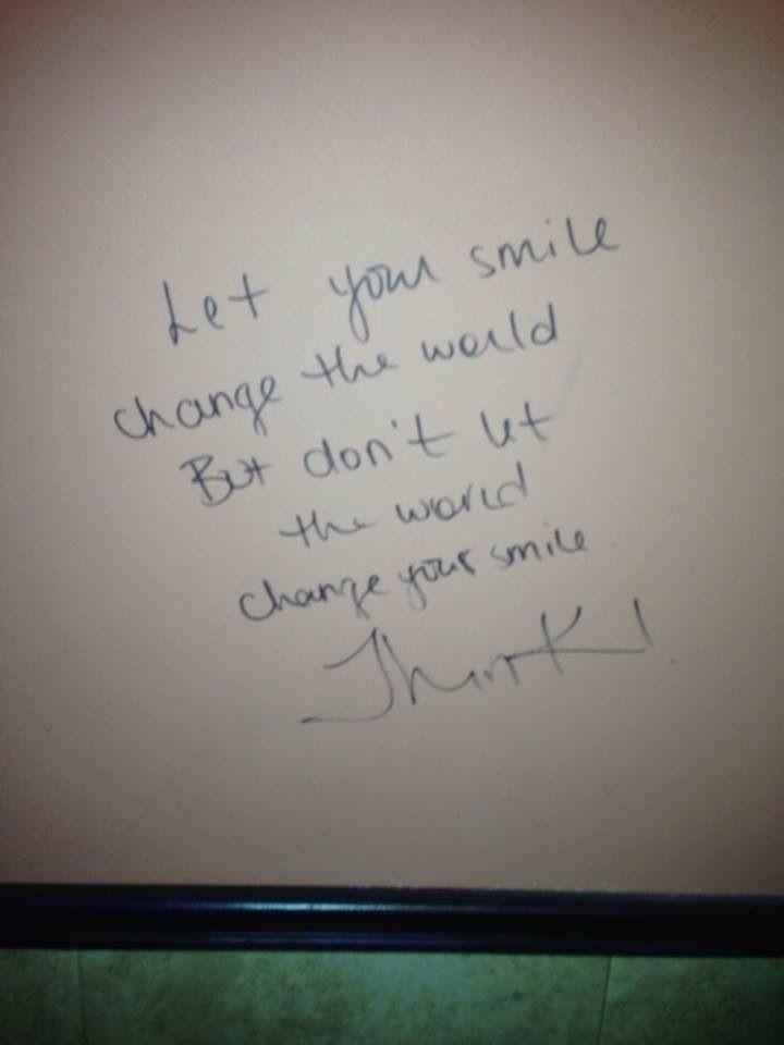 Best bathroom wall graffiti ever