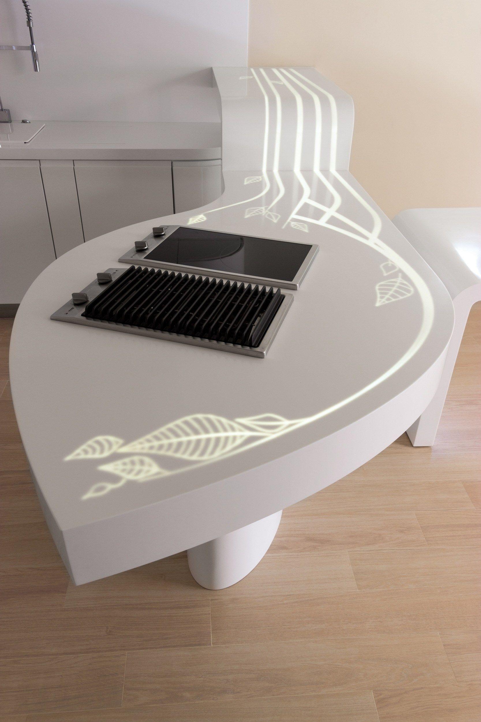 Top cucina in HI-MACS® by HI-MACS® by LG Hausys Europe | cORIAN ...