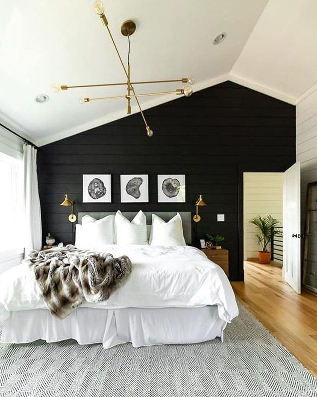 44 Stunning White Master Bedroom Ideas Match For Any Home Design