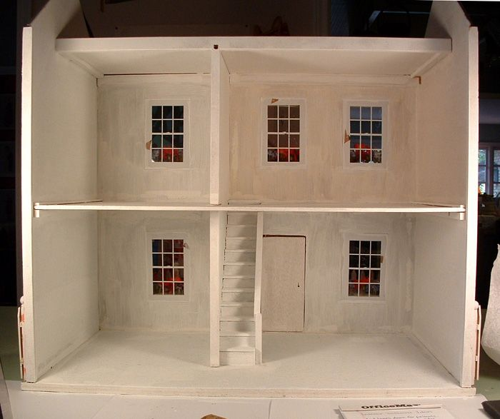 With internal windows....how would you display the furniture?