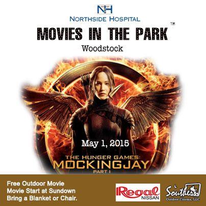 5/1/15 - Free Movies in the Park in Woodstock, GA (Atlanta)
