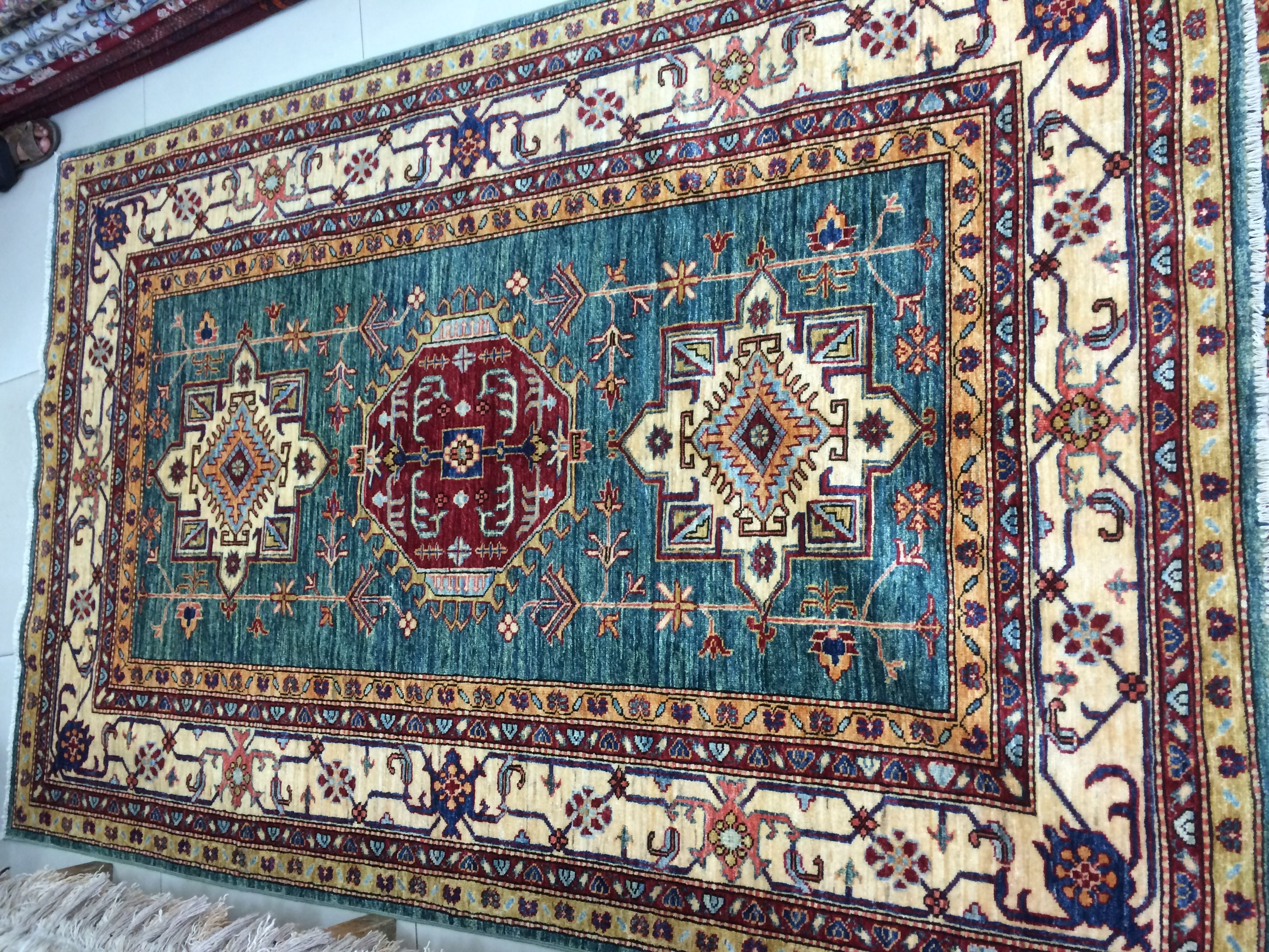 authentic Middle Eastern Wool Rug | Rugs, Rugs and carpet ...