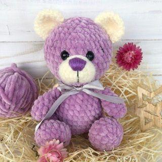 Crochet teddy bear free pattern | Amiguroom Toys