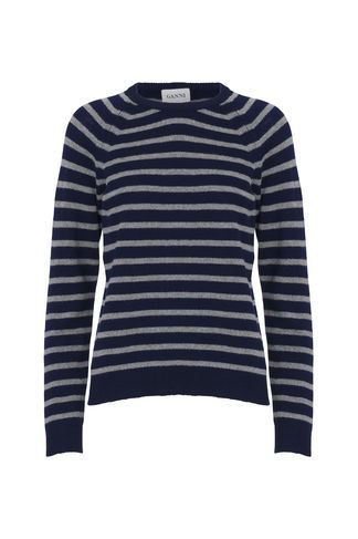 Mercer Knit Sweater, Dress BluesSmoked Pearl | Sweater