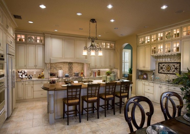 Model home interior design fdbae also pinterest kitchen rh