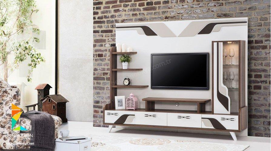 احدث اشكال مكاتب شاشات بلازما Tv Unit Design Design Tv Unit