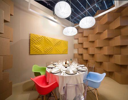 Cubic Pop Up Restaurant Sorpresa Visual Arquitectos Disenos De