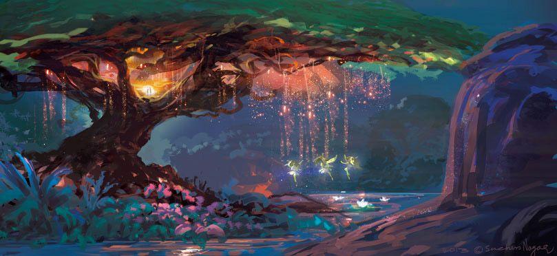 fairy land by sachin nagar | Fantasy | 2D | CGSociety