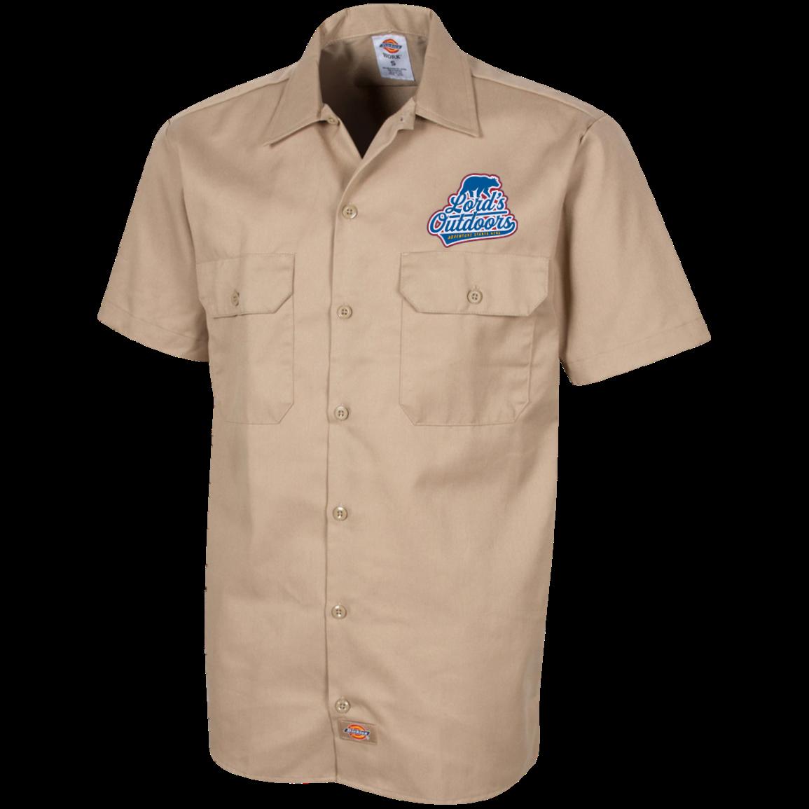 3eaad32356 Mens Dickies Work Shirts