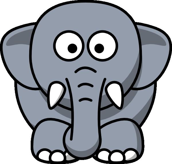 cartoon elephant clip art vector clip art online royalty free rh pinterest ca elephant clip art pictures african elephant clip art pictures
