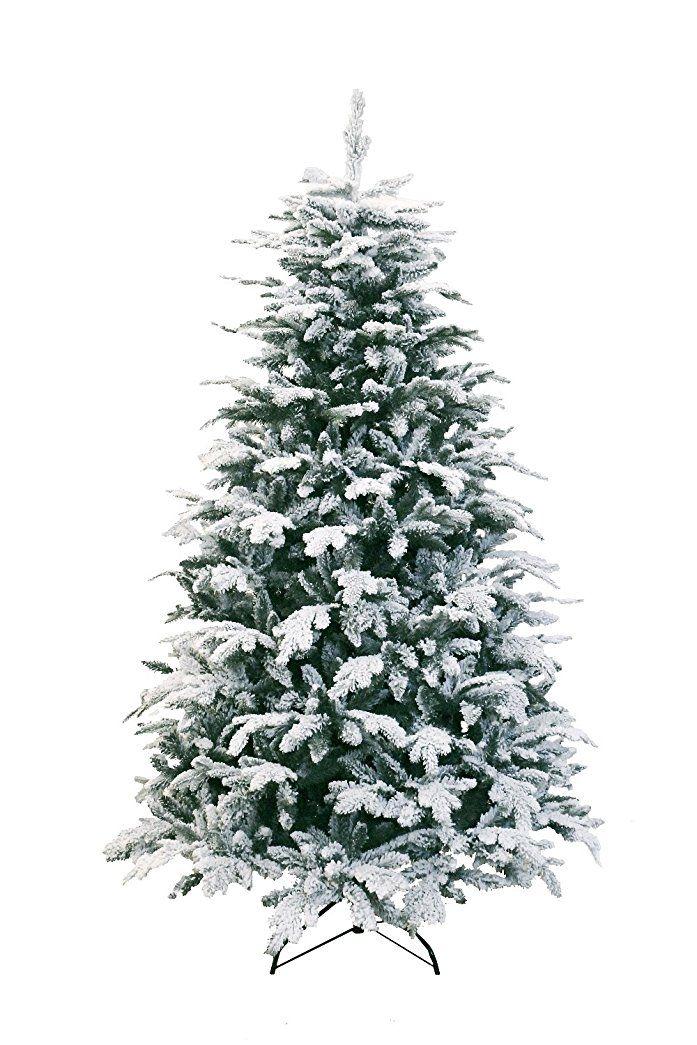 Künstlicher Weihnachtsbaum 150 Cm.Künstlicher Christbaum Zürich Mit Kunst Schnee Metallständer 230