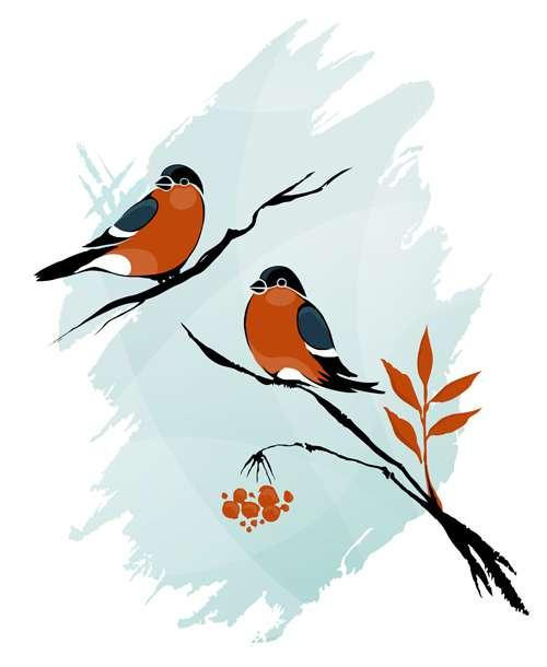 Зимние иллюстрации - Векторный клипарт | Иллюстрации ...