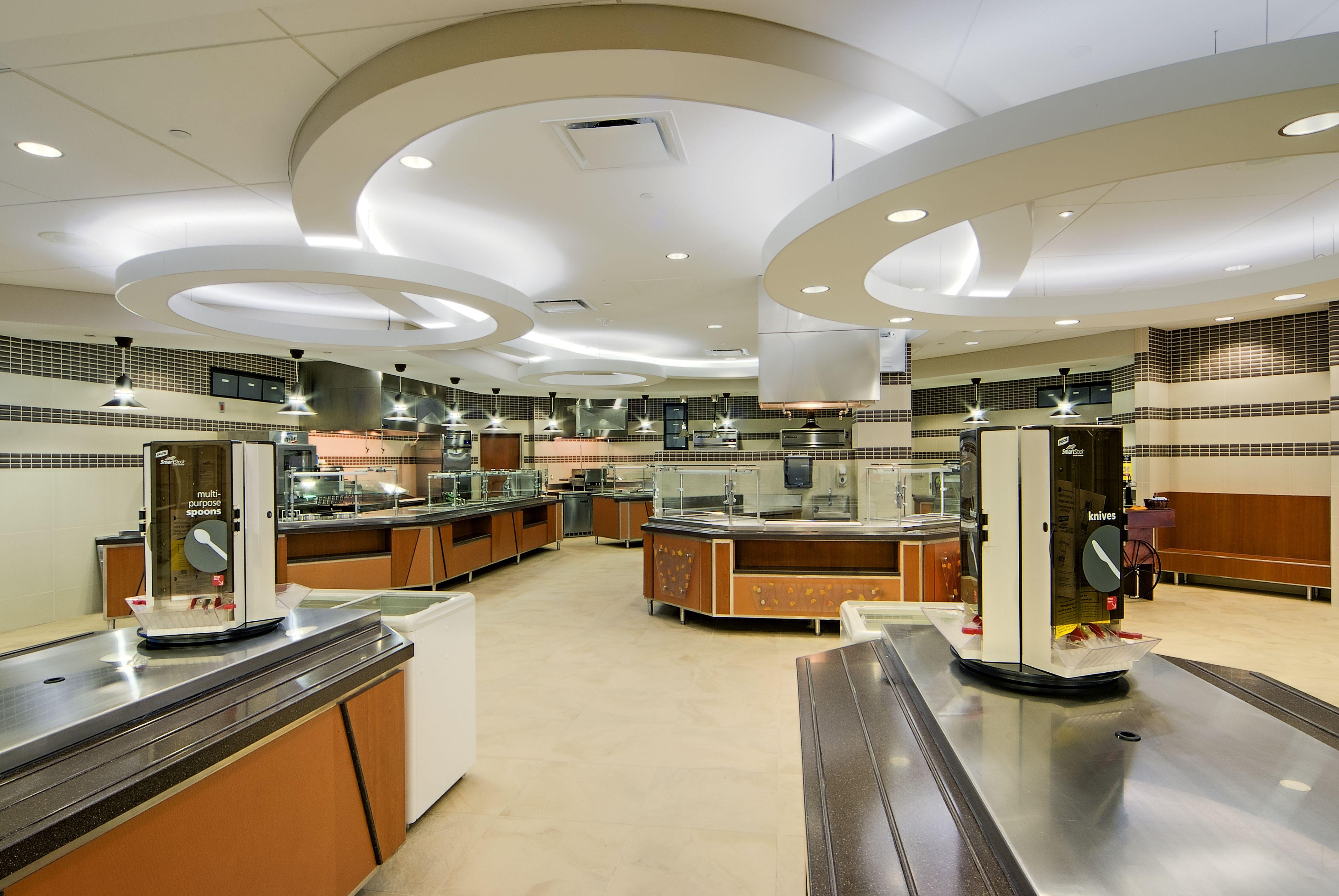 OLOL Hospital Cafeteria | My Designs in 2019 | Cafe design ...