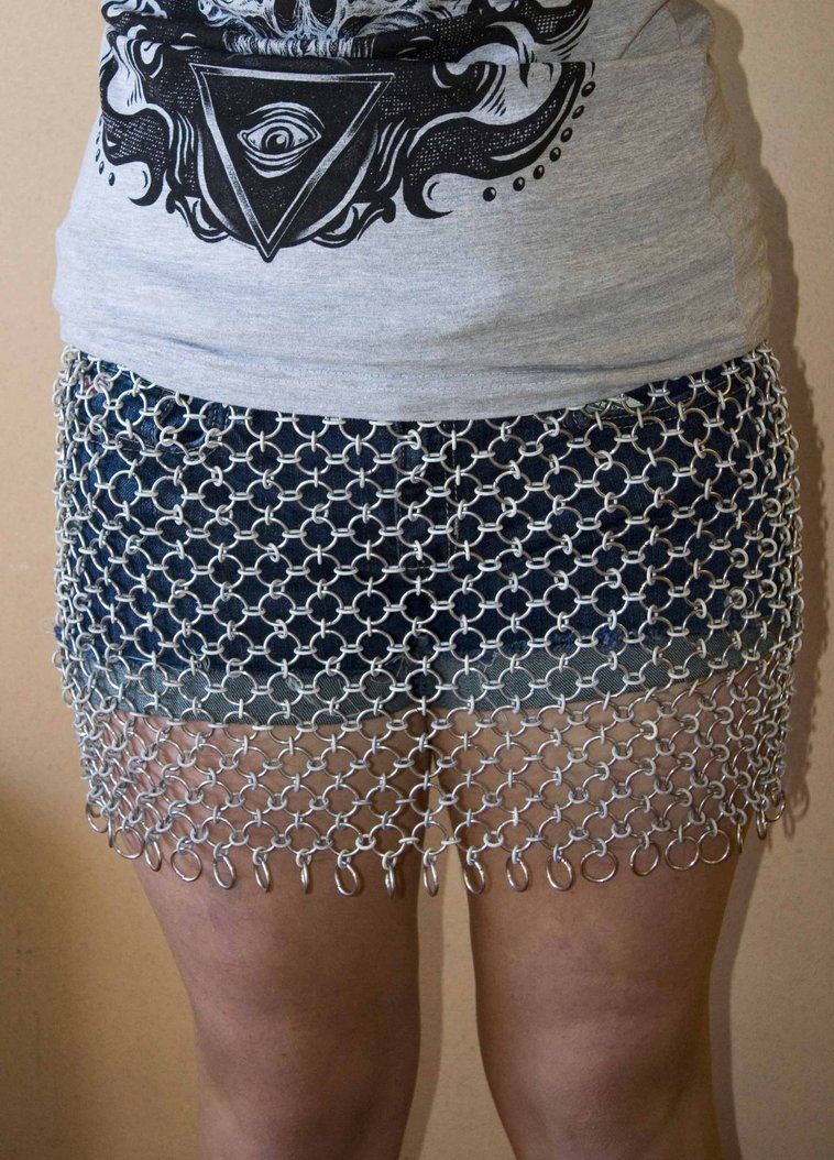 3dfdcc380ce Chain Maille Skirt